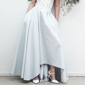 Scandi Winter Wedding Skirt - dresses