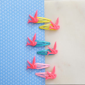 Children's Bird Hair Clips - hair accessories
