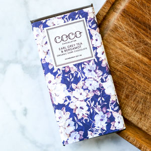 Earl Grey Artisan Dark Chocolate Bar - chocolates & confectionery