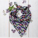 Brushstrokes Silk Neckerchief