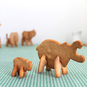 3D Hippo Cookie Cutter - baking