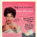 Retro 1950s Ava Gardner Max Factor Advertisement Print