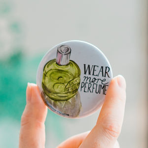 Wear More Perfume Pocket Mirror - compact mirrors
