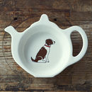 Springer Spaniel Tea Bag Dish