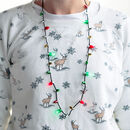 Christmas Fairy Lights Novelty Necklace