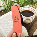 Personalised Brush Copper Metal Bookmark