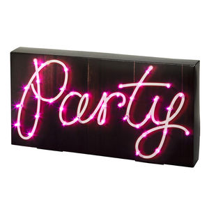 LED Pink Neon Party Light - room decorations