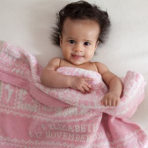 Playtime Baby Blanket In Lambswool - baby care