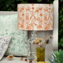 Phlomis Lampshade Block Printed By Hand