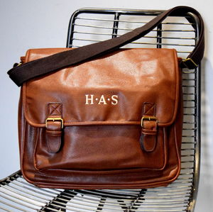 Personalised Messenger Laptop Bag - holdalls & weekend bags