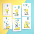 Children's Age One To Six Birthday Cards