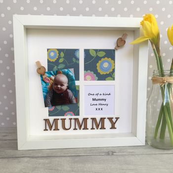 Mummy Personalised Photo Frame