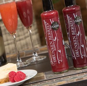Raspberry Gin And Blackberry Brandy Prosecco Mixers - champagne & prosecco