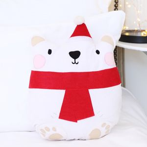 Polar Bear Cushion - baby & child