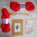 Scarf And Snood Knitting Kit
