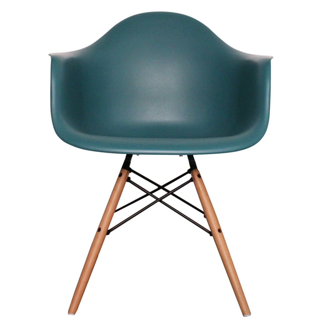 Teal office chair - A Modernist Dining Or Office Chair