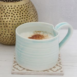 Hand Thrown Porcelain Mini Mug