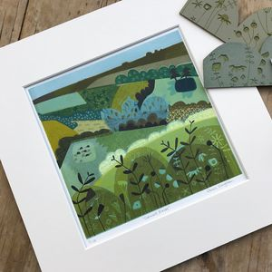 Cornwall Fields Limited Edition Print
