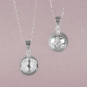 Chiming Ball Necklace For Mums And Mums To Be