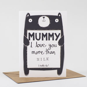 Mummy Birthday Card Personalised - mother's day cards