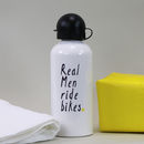 Personalised 'Real Men' Water Bottle