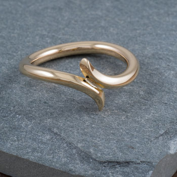 9ct Gold Wave Ring