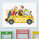 Zoo Van Escape Print