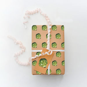 Eco Friendly Sprouts Christmas Wrap