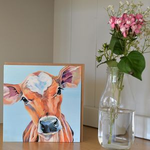 Juliet Jersey Calf Greetings Card