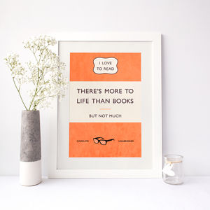 Classic Paperback Print - for writers & book-lovers