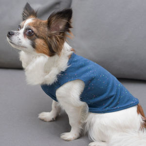 Speckled Dog Vest With Colour Options - new in pets