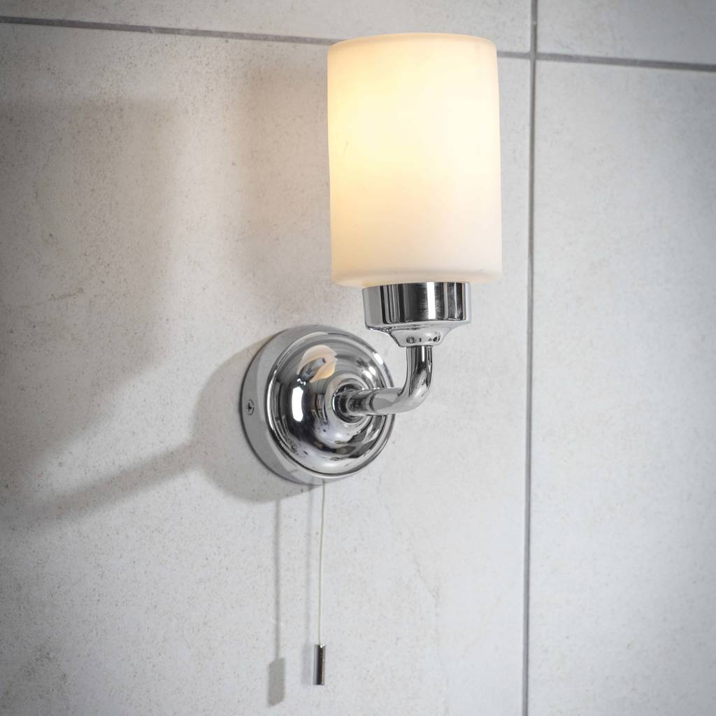 Opaque Bathroom Wall Light By Idyll Home