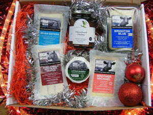 Christmas Cheese Selection Two - gifts for vegetarians