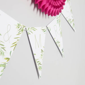 Bespoke Olive Tree Bunting - room decorations