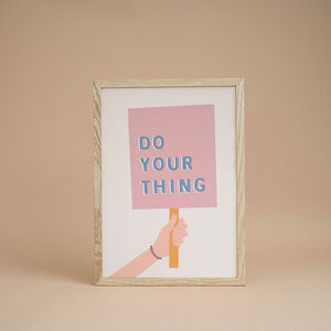 'Do Your Thing' Children's Print
