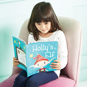 'Your Elf' Personalised Children's Christmas Story Book - christmas eve