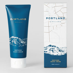 Portland Soothing Shave Cream 100ml