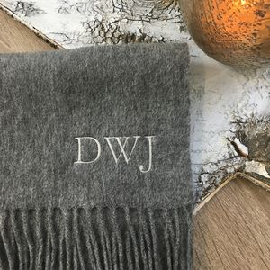 Personalised Scarf - 40th birthday gifts