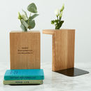 personalised bookend