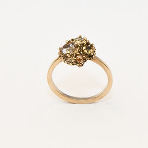 Cluster Statement Ring - engagement rings