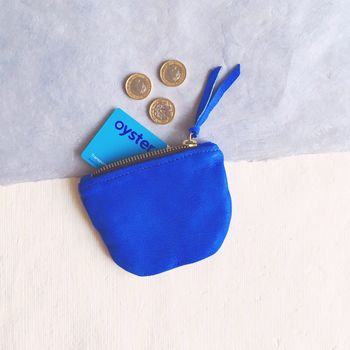 Soft Leather Slouch Coin Purse