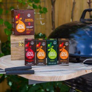 Spice Drops® Barbecue Collection With Recipe Booklet - sauces & seasonings