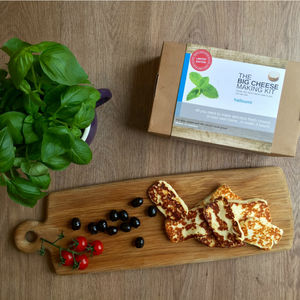 Make Your Own Halloumi Cheese Making Kit - gifts for foodies