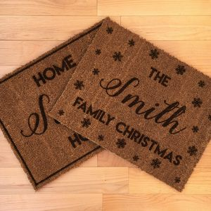 Doormat Gift Set For All Seasons - rugs & doormats