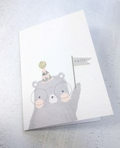 Hello Bear Card