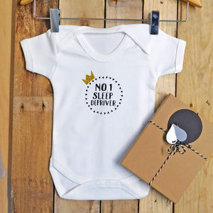 Sleep Depriver Funny Unisex Baby Vest - clothing