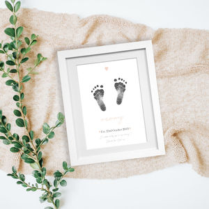 Personalised Mother's Day Inkless Print Kit