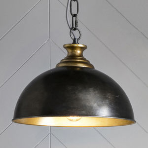 Industrial Black Pendant Light - ceiling lights