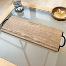 Personalised Wooden Knot Serving Board