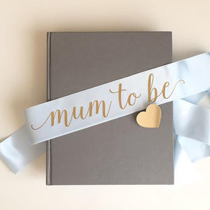 Mum To Be Baby Shower Sash - baby shower gifts & ideas